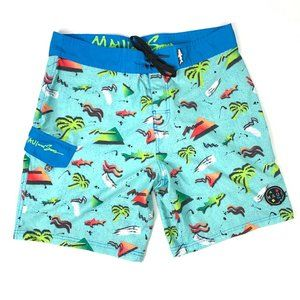 Maui and Sons Board Shorts Summer Swim Trunks L
